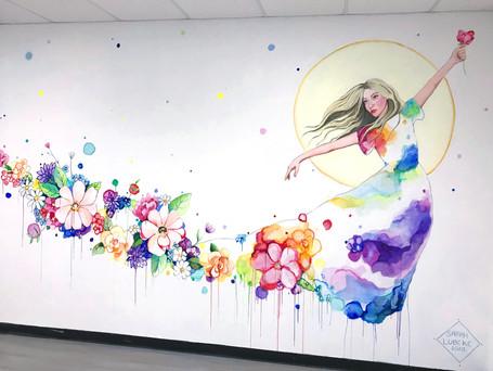 Born A Dreamer (mural)