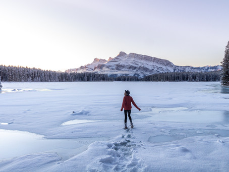 Secrets to handling winter in Banff National Park, Alberta Canada