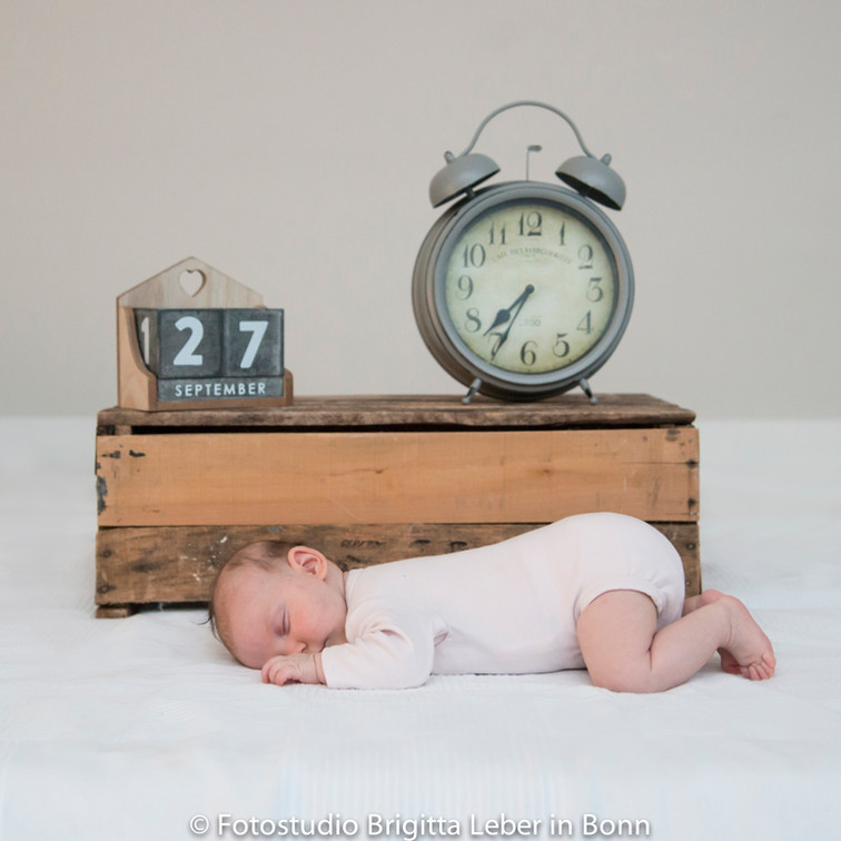 Babyfotografie Bonn Geburtsanzeige