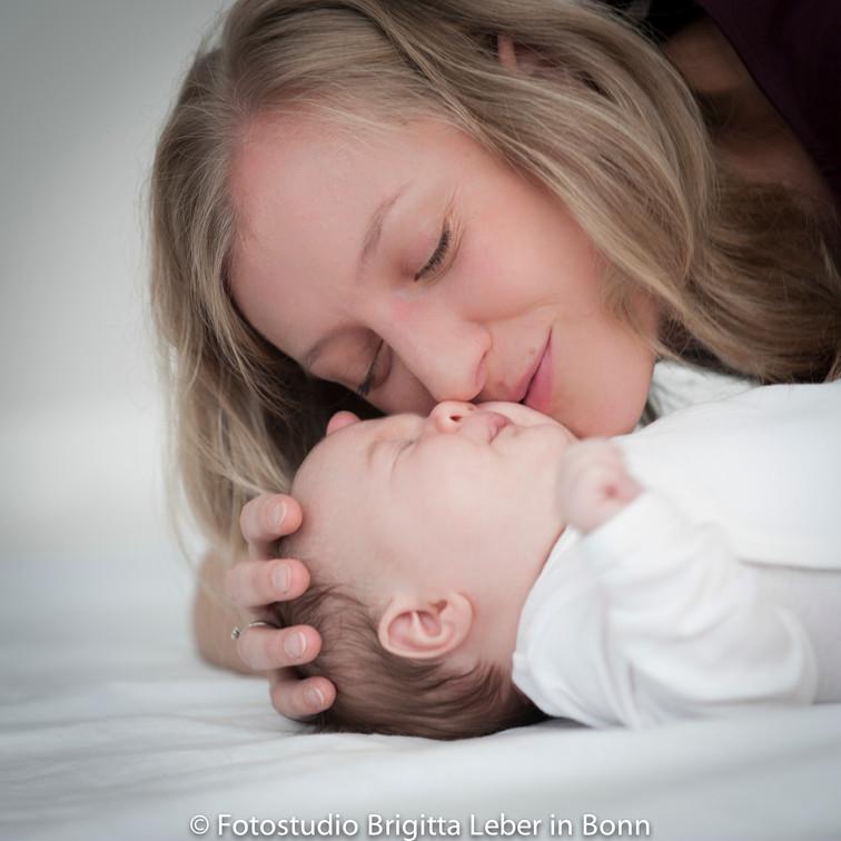 Babyfotos im Fotostudio Bonn