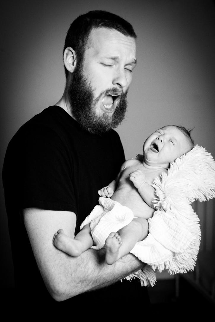 papa und Babyshooting