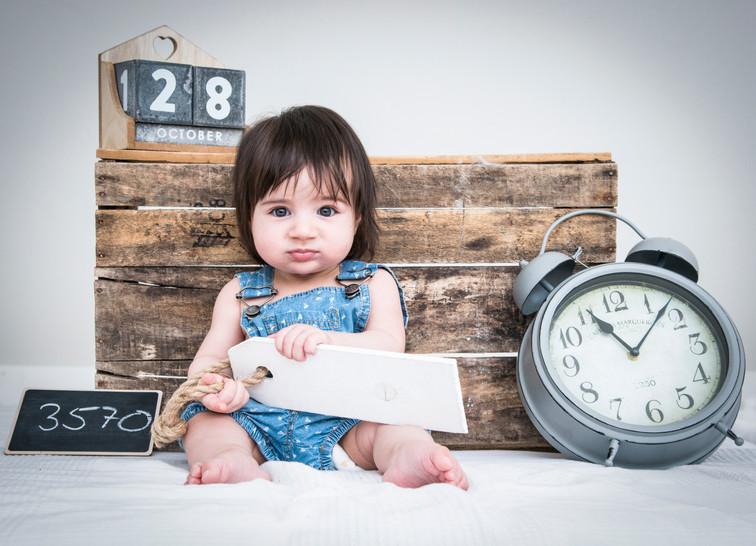 Babyfotos Tapetenfabrik