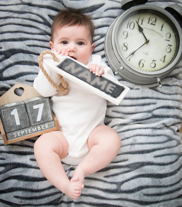 Geburtsanzeige Baby