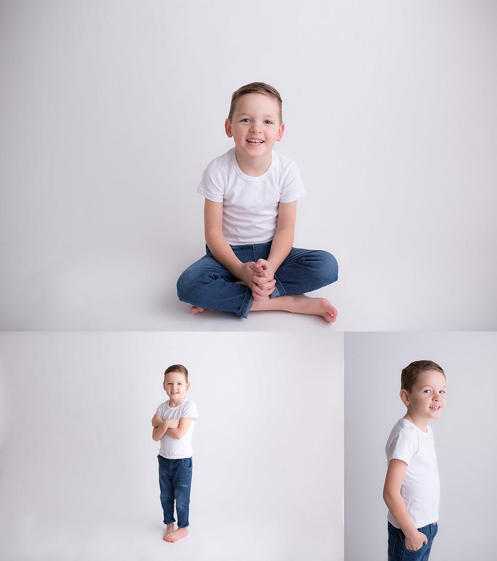 Boys birthday portrait session