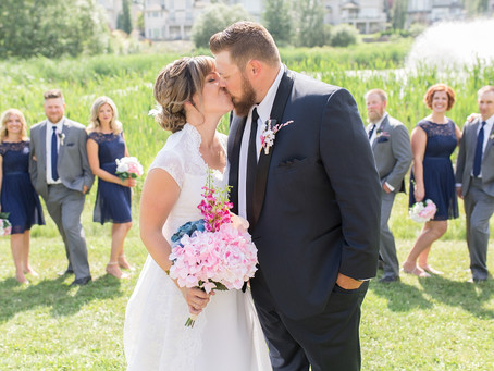 Larissa + Jordon ›› Stettler Wedding Photographer