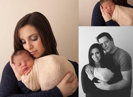 Baby Emery ›› Stettler Newborn Photographer