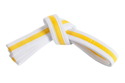 White Belt Yellow tag Grading