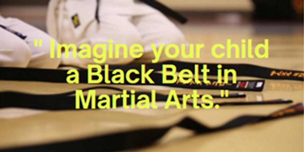 Online kids and parent Martial Arts class