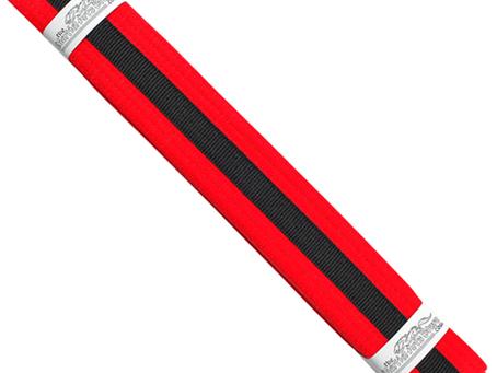 Red Belt Black Tag Grading