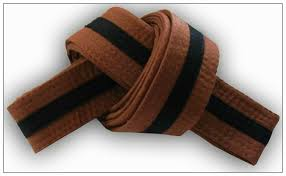Preschool 7th Grading Brown Belt Black Tag