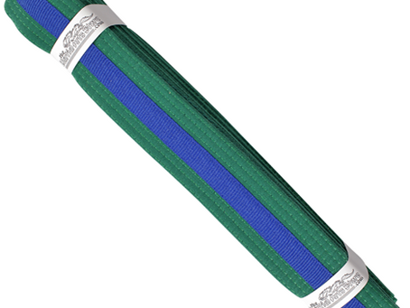Green Belt Blue Tag Grading