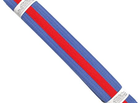 Blue Belt Red Tag Grading