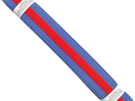 Blue Belt Red Tag Grading