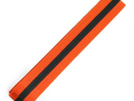 Preschool 3rd Grading Orange Belt Black Tag