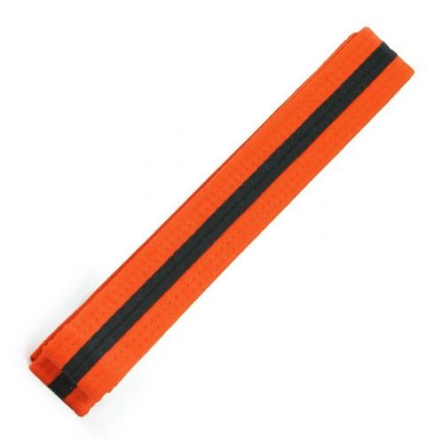 Preschool Third Grading Orange Belt Black Tag