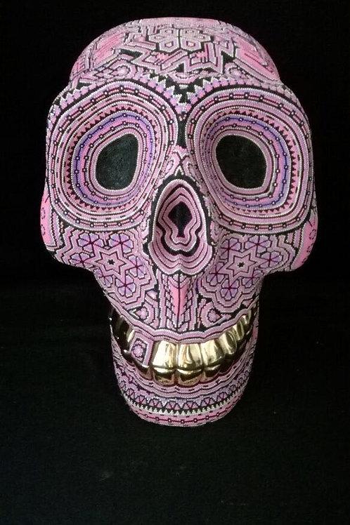24K Gold Plated Teeth Skull + Paricuta