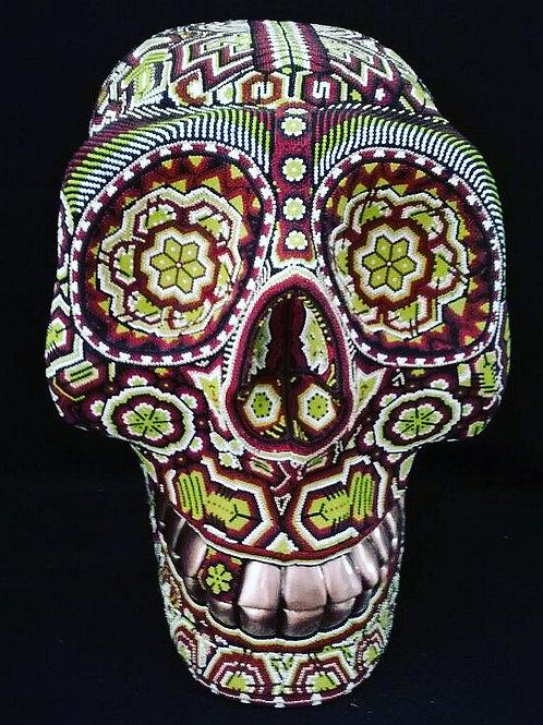 Patina Copper Teeth Skull + Paricuta