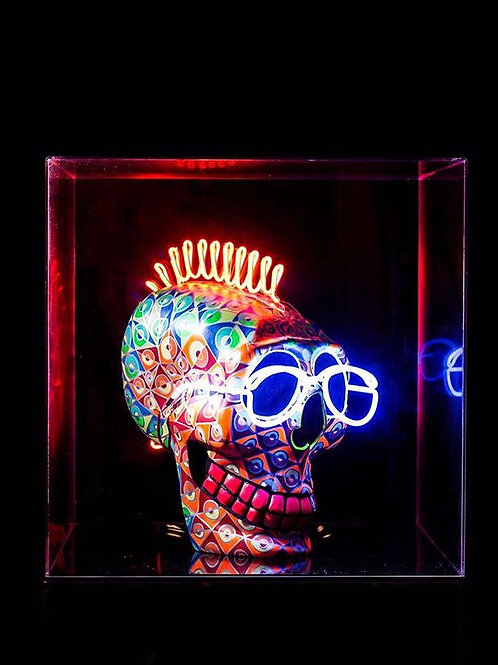 Punk Skull - SOLD -
