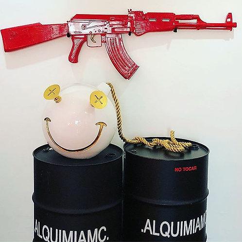 "Red Ak-47 ""FINGER ME"""