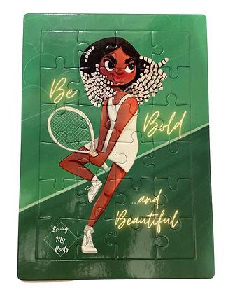 """Be Bold & Beautiful"" Puzzle"