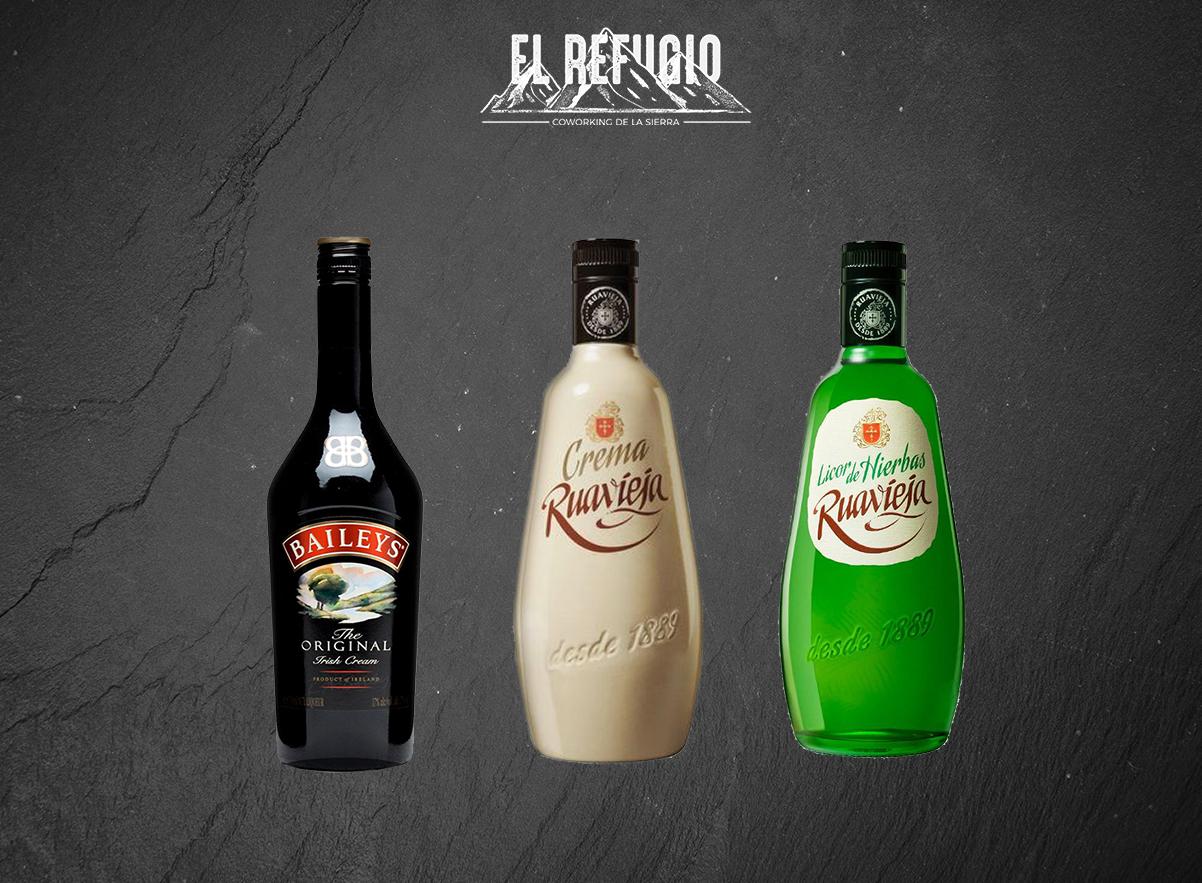 LICORES CON ALCOHOL