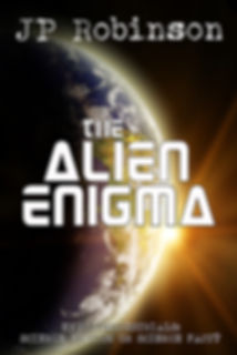 Front cover of The Alien Enigma by JP Robinson