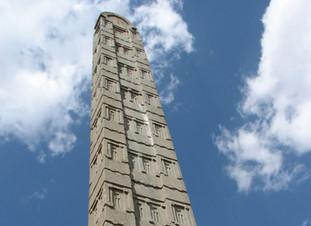 The Axum Stelae: Multi-storey buildings of antiquity?