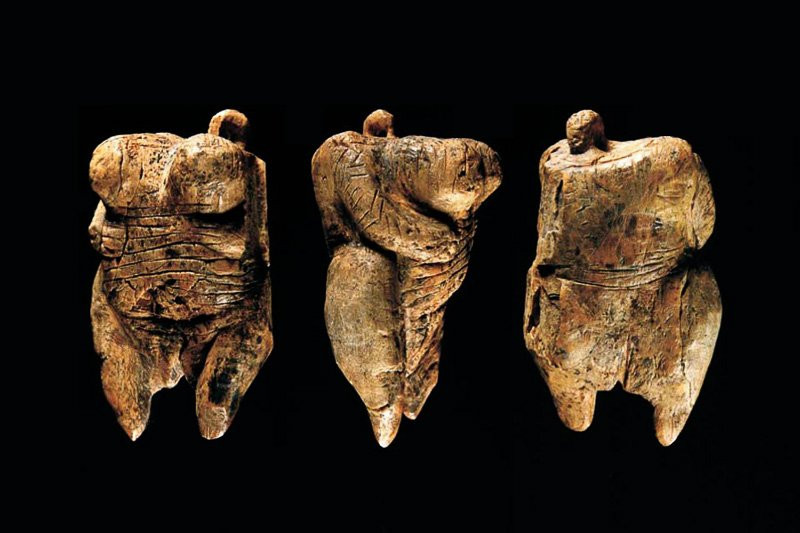 The Venus of Hohle Fels is believed to be the oldest carved human figurine ever found.