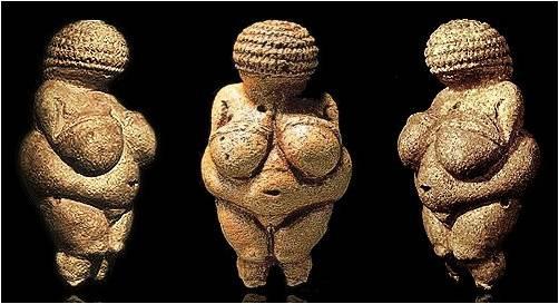 The Willendorf Venus.