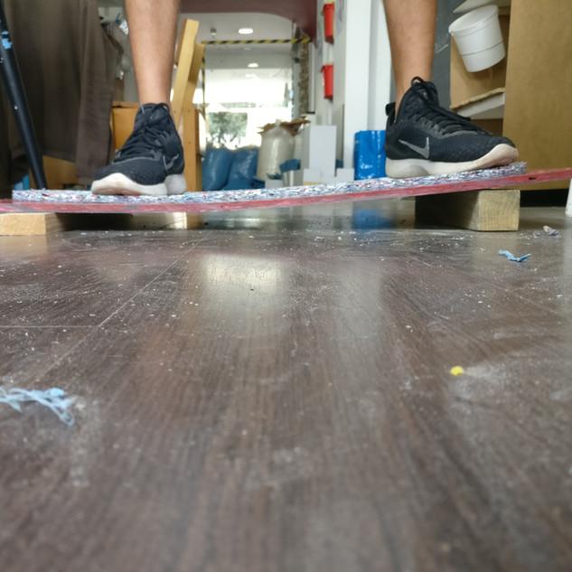 CNC Milled Board Flex Test Error