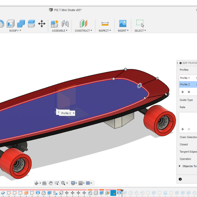 Fusion 360 CAD Modeling