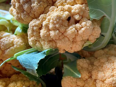 Roasted Cauliflower Snowflakes