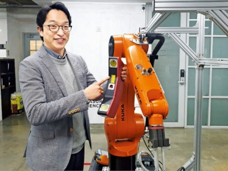 CMES makes the robot 'eyes'...'A perfect fix' to automation