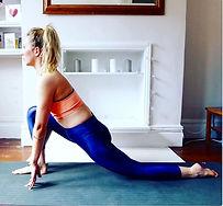 yoga pose, runner's lunge, yoga teacher, hip stretch, yoga teacher london