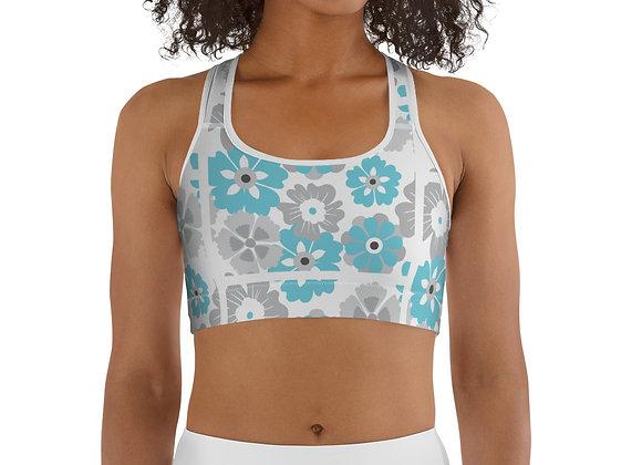Floral-T Sports bra