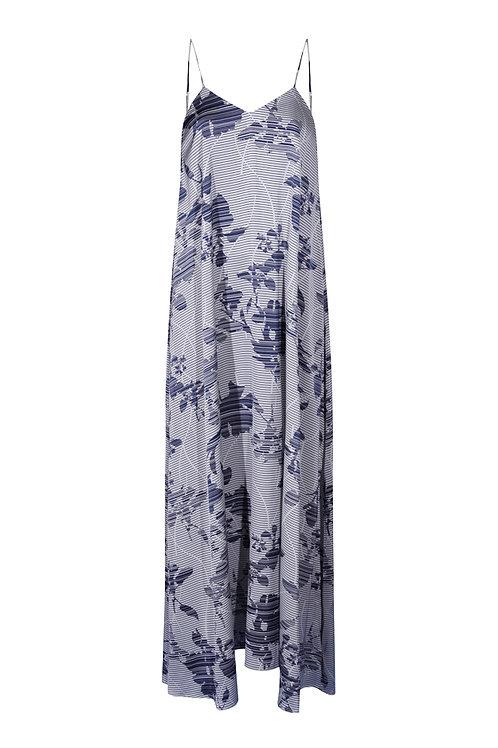 Dress Blue Flowers