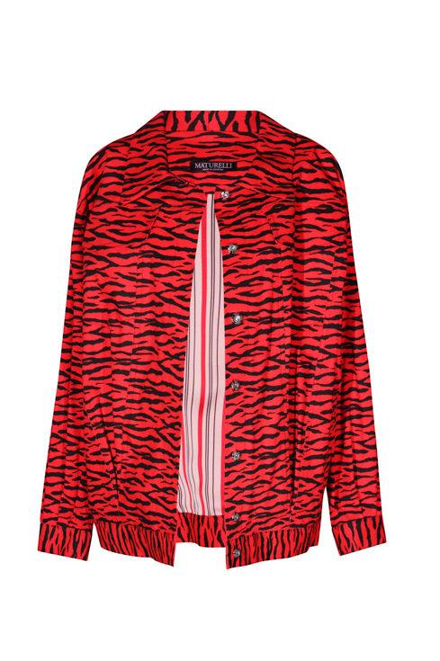 Jacket Red Tiger
