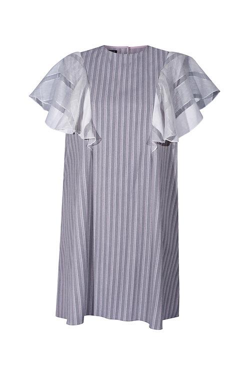 Dress Gray Striped