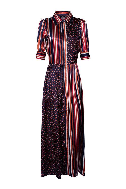 Dress Striped Peas