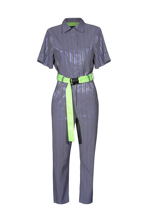 Suit Silver Stripes
