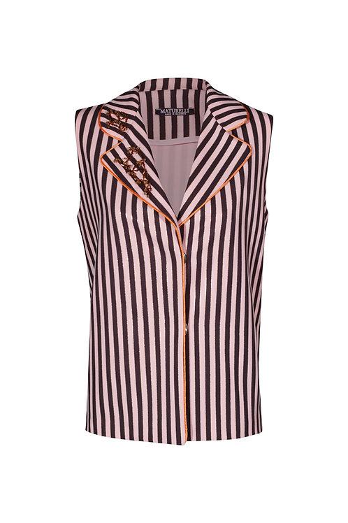 Blouse Pink Stripes
