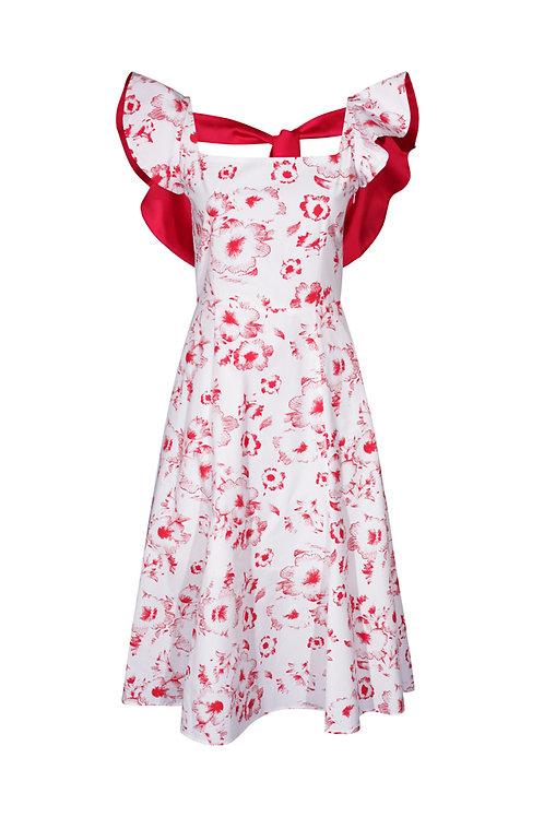 Dress Red Flower