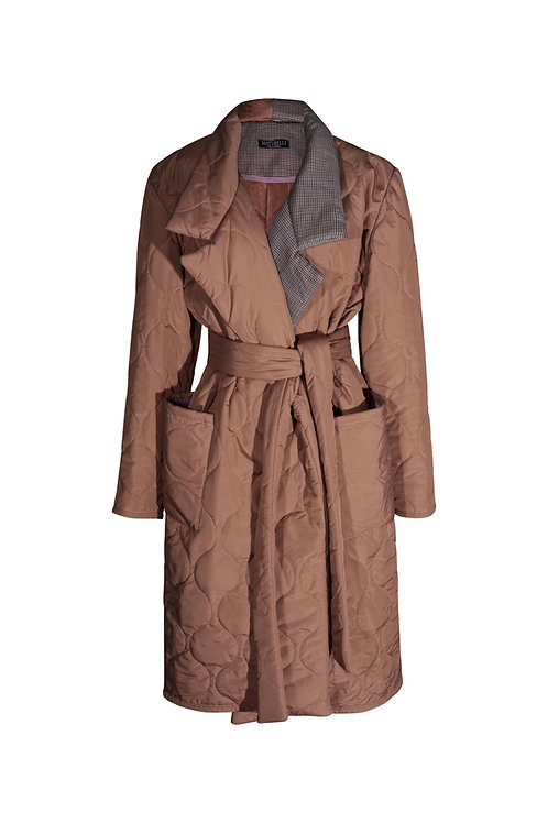 Coat Quilted  Caramel