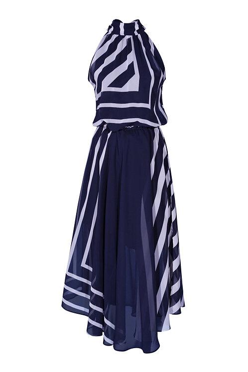Dress White Stripes