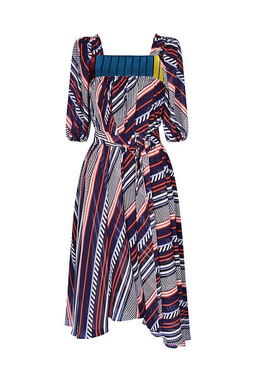Dress Colored Stripes