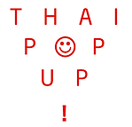 thai pop up, dalston