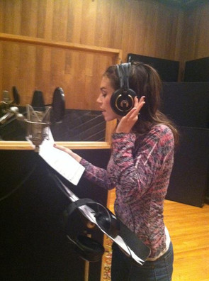 """NYC. Recoording demo for the new musical """"Beyond the Music"""""""
