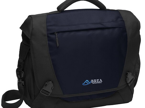 BREA Gear  Port Authority Computer Messenger - Dark Steel Blue Prev | Next