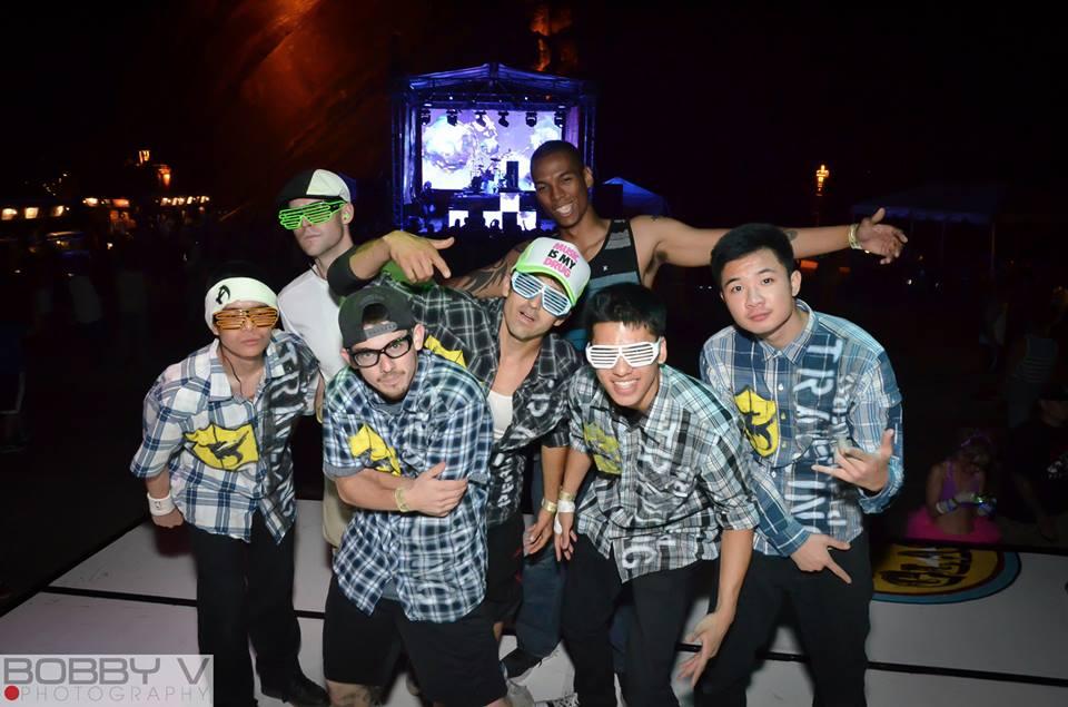 Triad Dragon Crew shirts