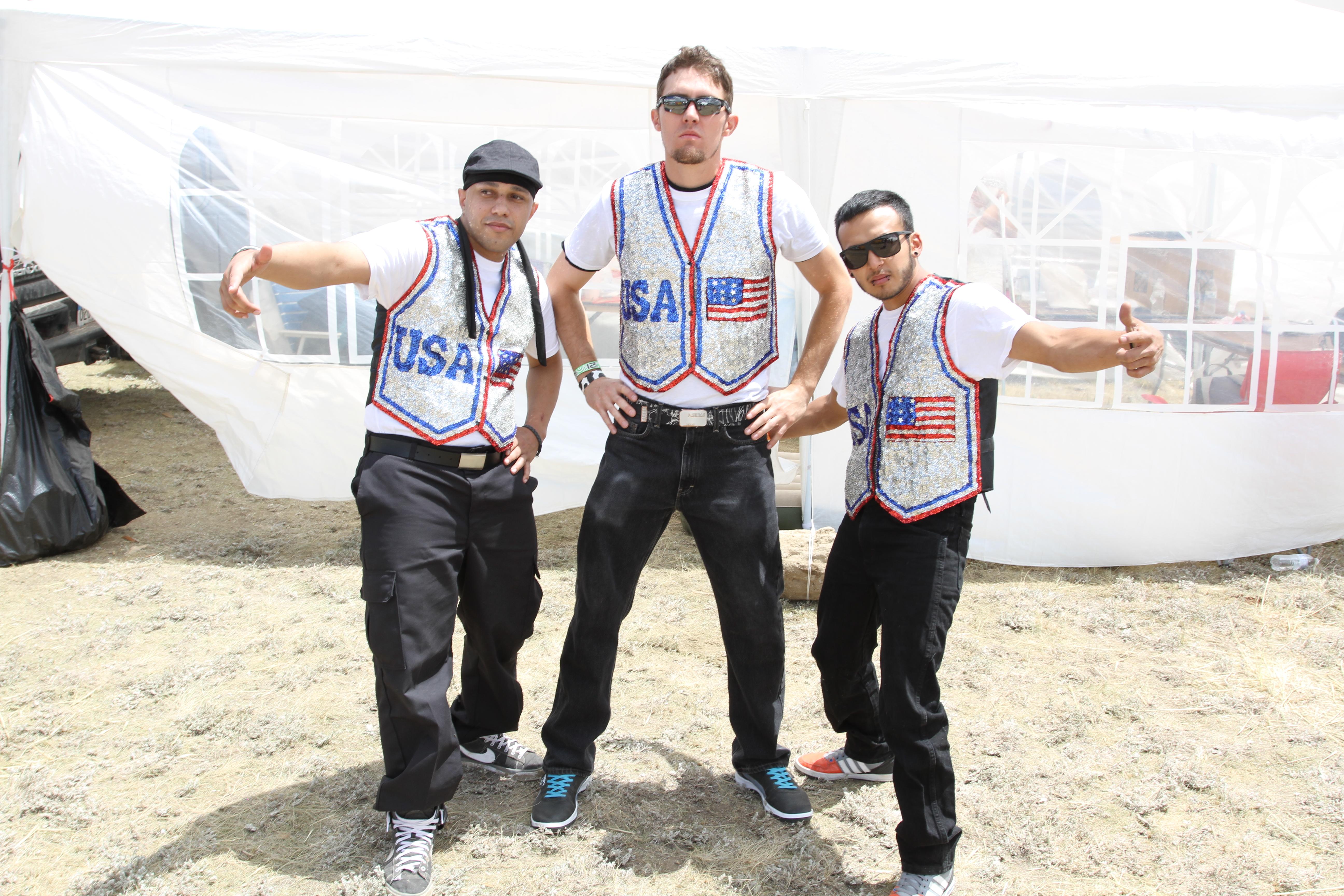 Patriotic B-Boys